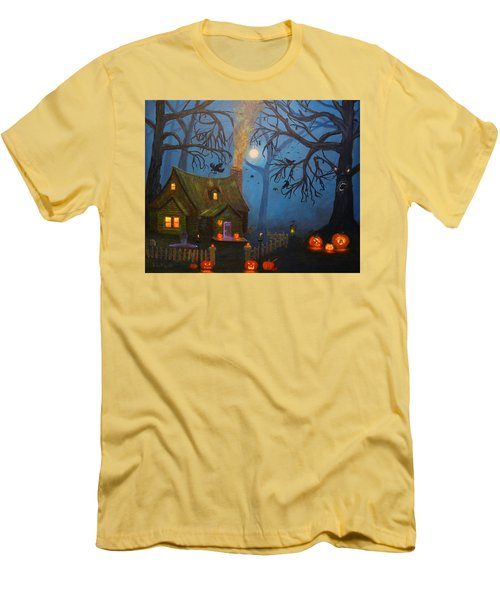Halloween Night Men's T-Shirt (Athletic Fit)
