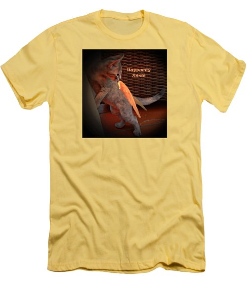Happurry Xmas Men's T-Shirt (Slim Fit) by Dorothy Berry-Lound