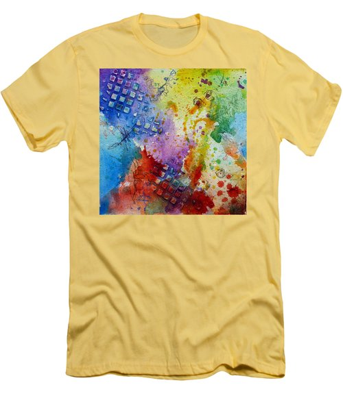 Happy Accidents Men's T-Shirt (Slim Fit) by Tracy Bonin