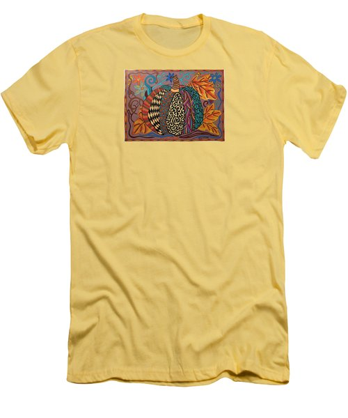 Happy Autumn  Men's T-Shirt (Slim Fit) by Molly Williams