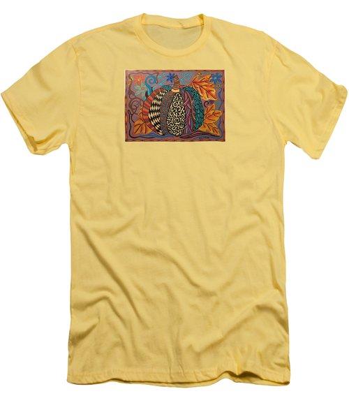 Happy Autumn  Men's T-Shirt (Athletic Fit)