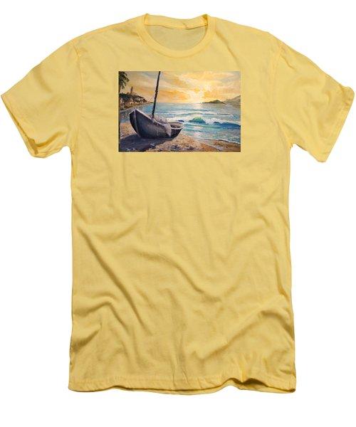 Happy Hour Men's T-Shirt (Slim Fit) by Alan Lakin