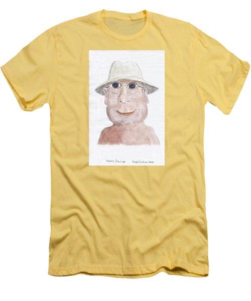 Happy Senior Men's T-Shirt (Athletic Fit)