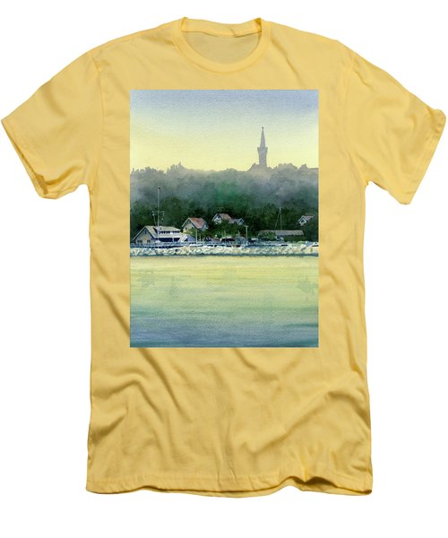 Harbor Master, Port Washington Men's T-Shirt (Athletic Fit)
