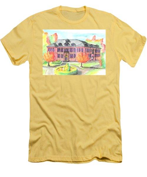 Hardie Building Beverly Men's T-Shirt (Slim Fit) by Paul Meinerth