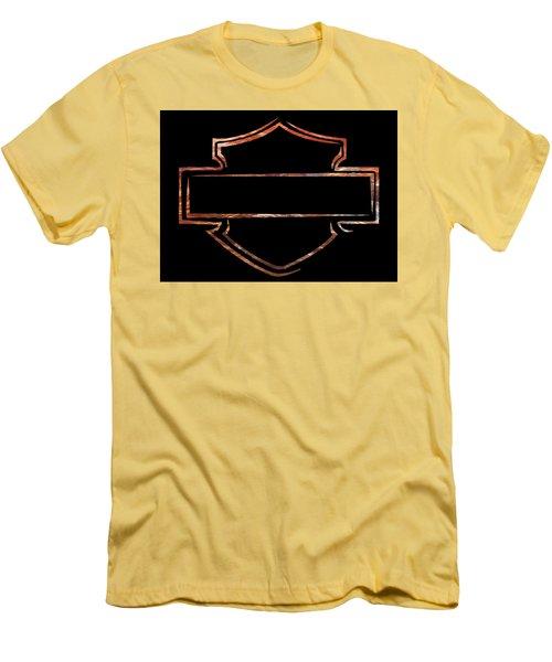 Men's T-Shirt (Slim Fit) featuring the digital art Harley  by Jamie Lynn