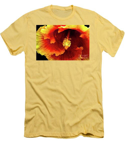 Hawaii Dreamin Men's T-Shirt (Slim Fit) by Deborah Nakano