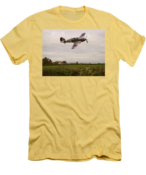Hawker Hurricane -1 Men's T-Shirt (Athletic Fit)