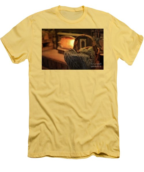 Hearth And Home Men's T-Shirt (Slim Fit) by Nicki McManus