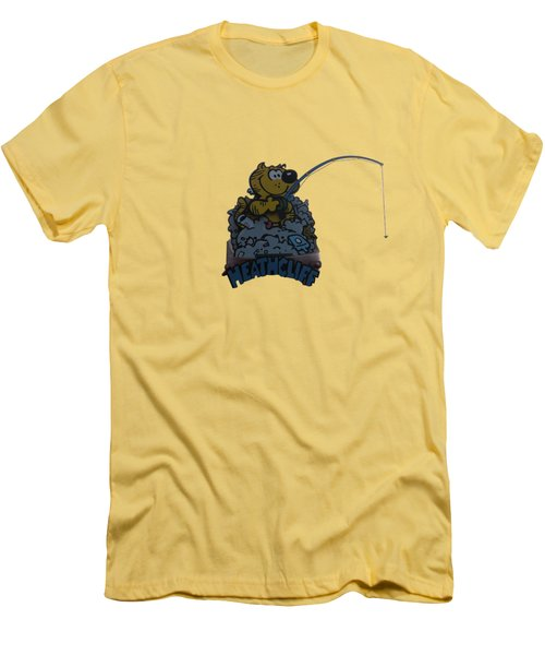 Heathcliff Men's T-Shirt (Slim Fit) by Tom Prendergast