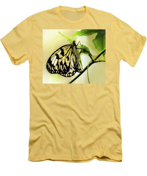 Men's T-Shirt (Slim Fit) featuring the photograph Heaven's Door Hath Opened by Karen Wiles