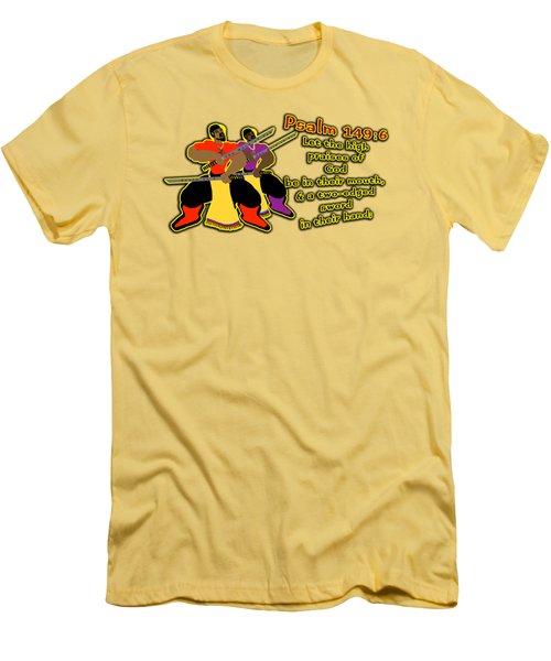 Hebrew Soldier Brothahood Pt1 Men's T-Shirt (Athletic Fit)