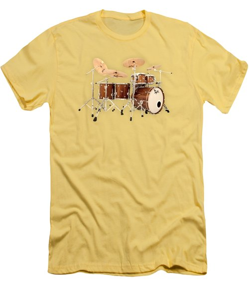 Hendrix  Drums Men's T-Shirt (Slim Fit) by Shavit Mason