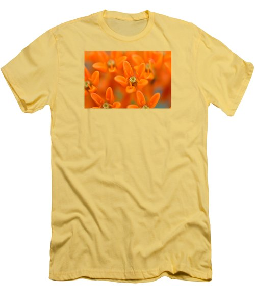 Here Men's T-Shirt (Slim Fit) by Janet Rockburn