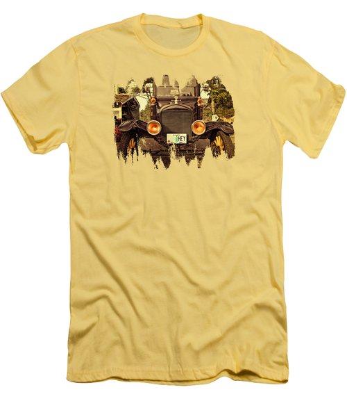 Hey A Model T Ford Truck Men's T-Shirt (Slim Fit) by Thom Zehrfeld