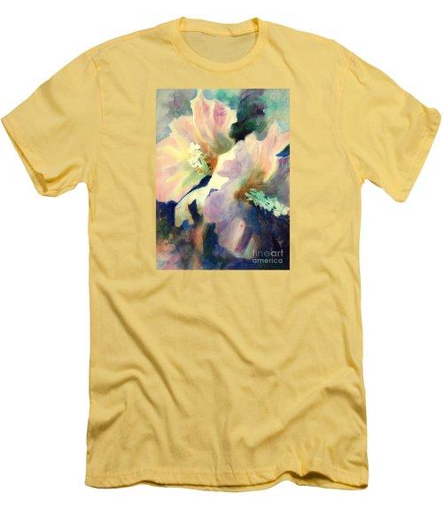 Hibicus Up Close Men's T-Shirt (Slim Fit) by Kathy Braud