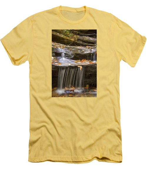 Hidden Falls Detail Men's T-Shirt (Athletic Fit)