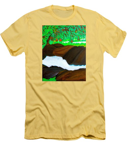 Hidden Paradise Men's T-Shirt (Athletic Fit)