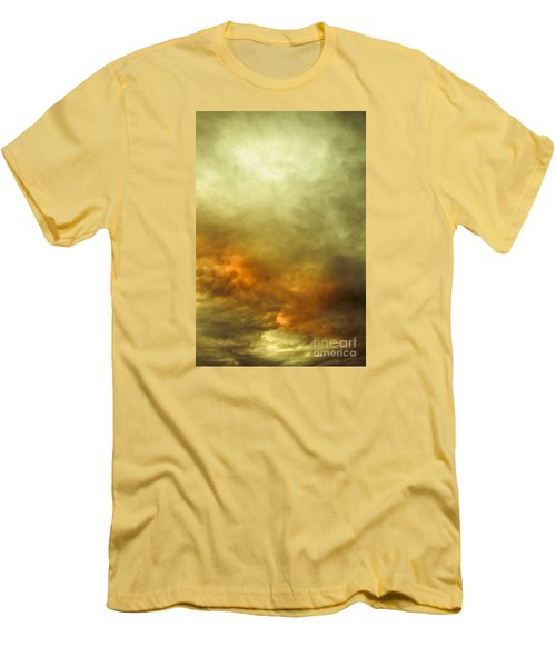 Men's T-Shirt (Athletic Fit) featuring the photograph High Pressure Skyline by Jorgo Photography - Wall Art Gallery