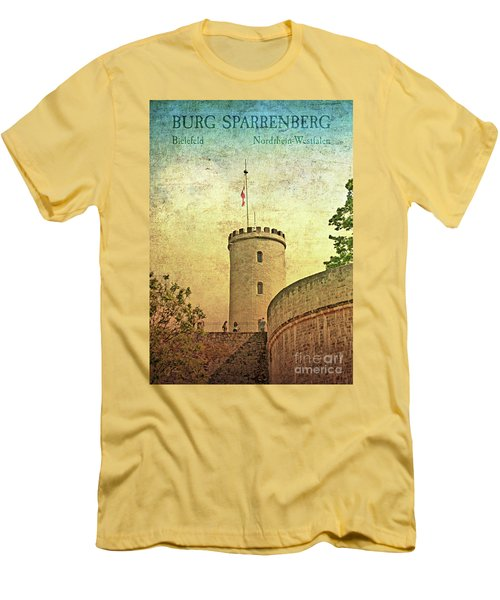 Historic Landmark Sparrenberg Castle Men's T-Shirt (Athletic Fit)