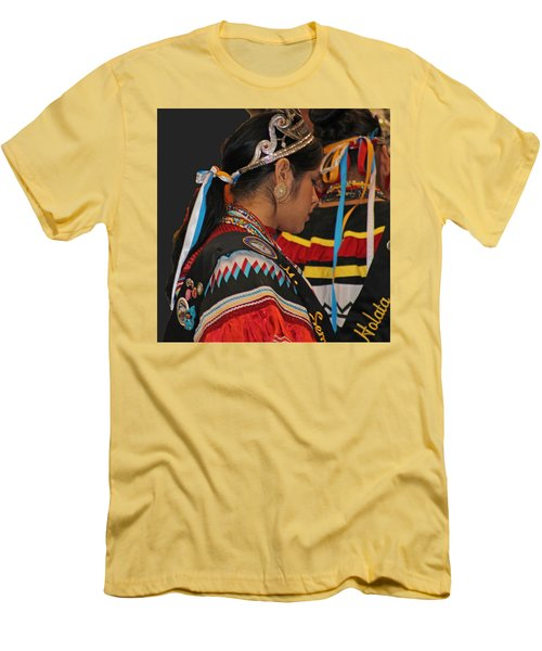 Holata Men's T-Shirt (Slim Fit) by Audrey Robillard
