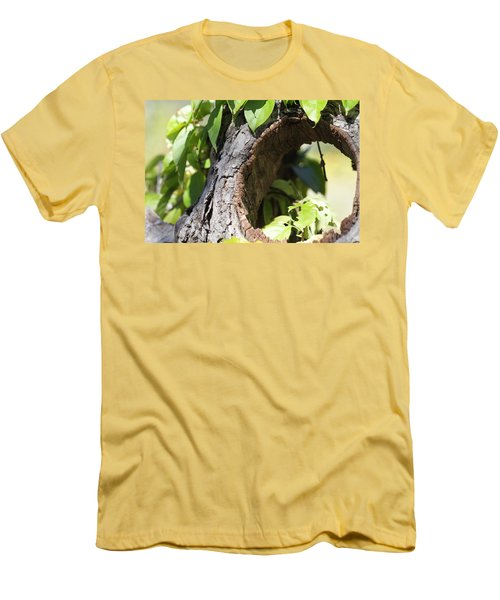 Hole Men's T-Shirt (Athletic Fit)