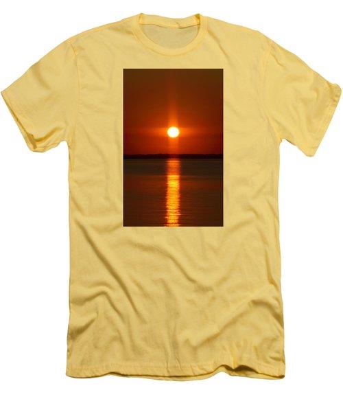Holy Sunset - Portrait Men's T-Shirt (Slim Fit) by William Bartholomew