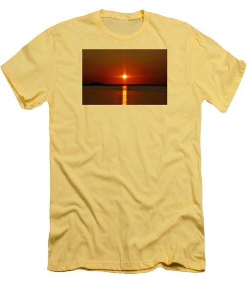 Holy Sunset Men's T-Shirt (Slim Fit) by William Bartholomew