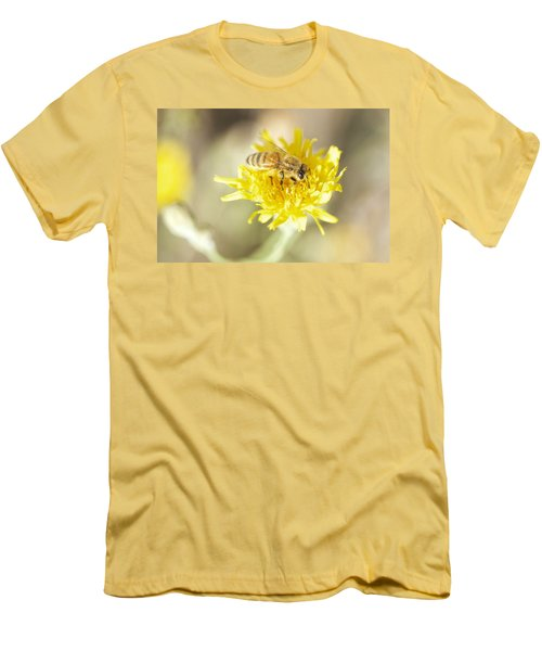 Honeybee Men's T-Shirt (Slim Fit) by Nikki McInnes