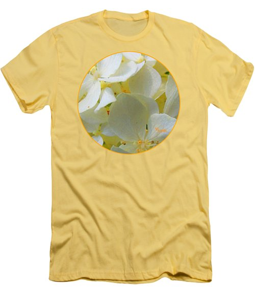 Honeysuckle Blossoms Men's T-Shirt (Athletic Fit)