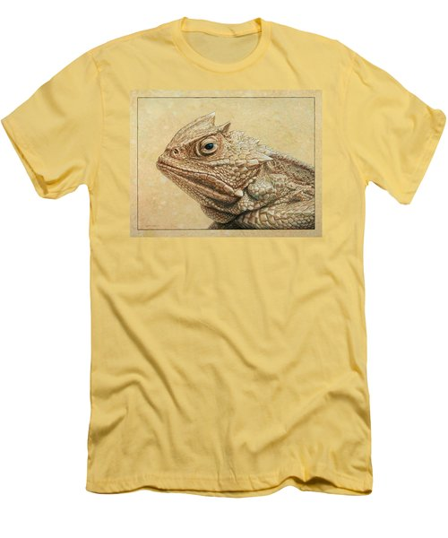 Horned Toad Men's T-Shirt (Athletic Fit)