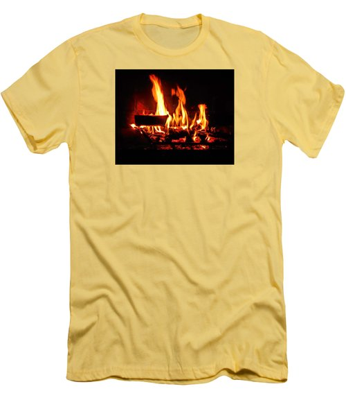 Hot Coals Men's T-Shirt (Athletic Fit)