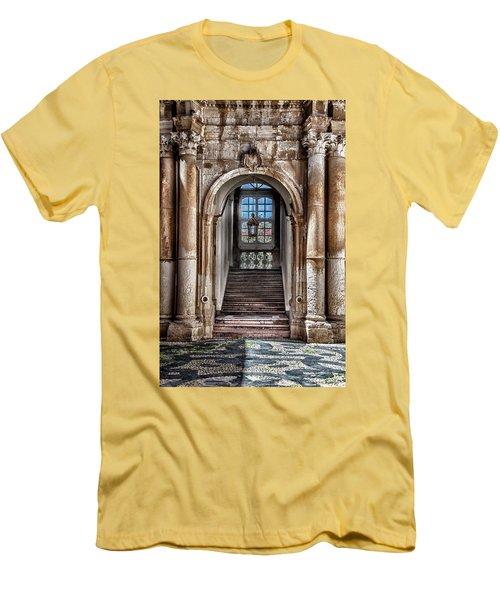 House Entrance Palermo  Men's T-Shirt (Slim Fit) by Patrick Boening