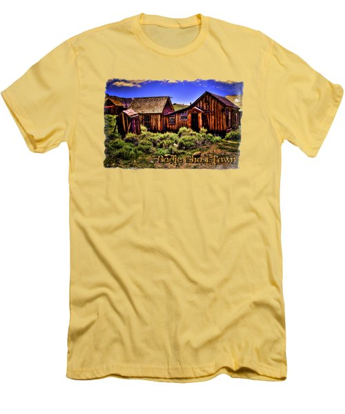 House, Shed And Outhouse Bodie Ghost Town Men's T-Shirt (Athletic Fit)