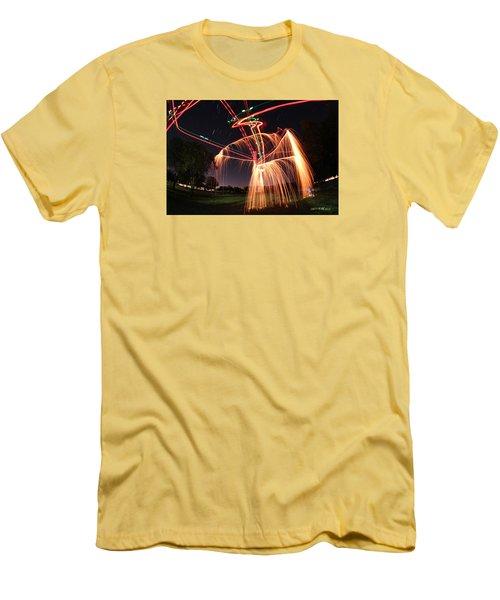 Hula Dancer Men's T-Shirt (Athletic Fit)