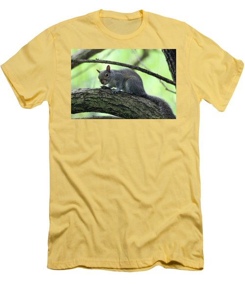 Men's T-Shirt (Athletic Fit) featuring the photograph I Am Watching You by Trina Ansel