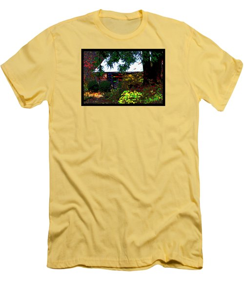 I Dreamt I Was A Cabin Men's T-Shirt (Athletic Fit)