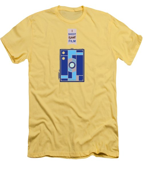 I Shoot Film Men's T-Shirt (Athletic Fit)