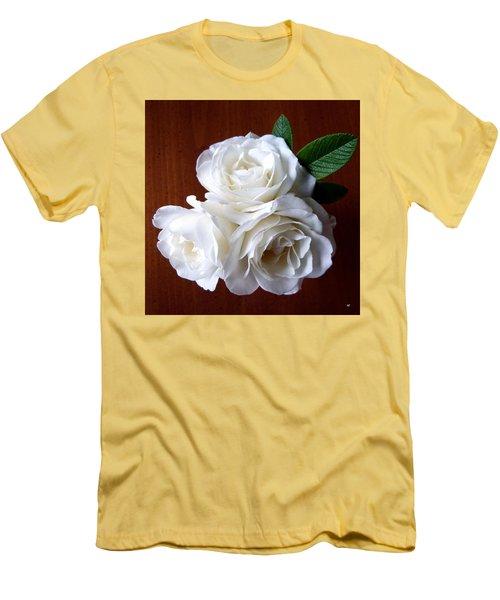 Iceberg Rose Trio Men's T-Shirt (Slim Fit) by Will Borden