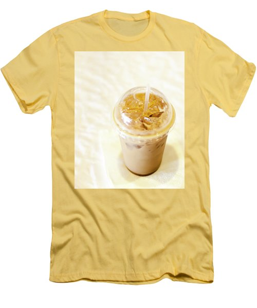 Iced Coffee 1 Men's T-Shirt (Slim Fit)