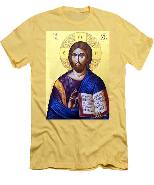 Icon Of Christ In Jericho Men's T-Shirt (Athletic Fit)