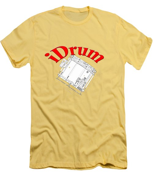 iDrum Men's T-Shirt (Slim Fit) by M K  Miller