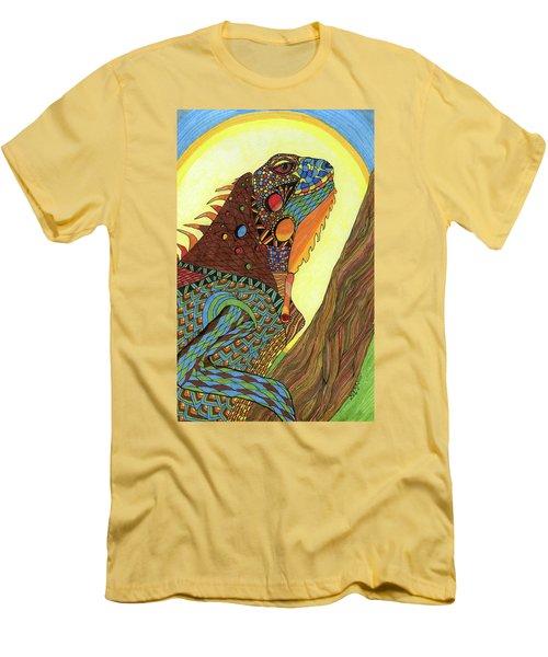 Iguana Men's T-Shirt (Athletic Fit)