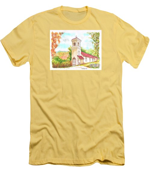 Immaculate Concepcion Catholic Church, Sierra Nevada, California Men's T-Shirt (Athletic Fit)