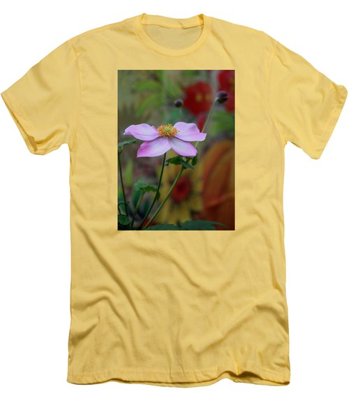 Men's T-Shirt (Slim Fit) featuring the photograph In Bloom by Karen Harrison