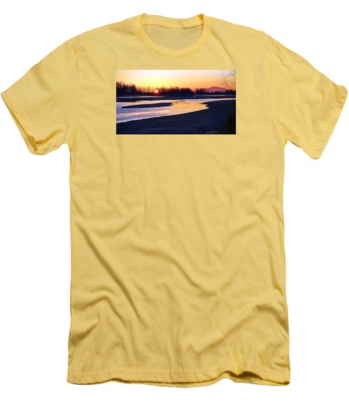 The Fraser River Men's T-Shirt (Athletic Fit)