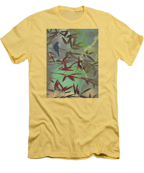 In The Bamboo Forest Men's T-Shirt (Slim Fit) by AugenWerk Susann Serfezi