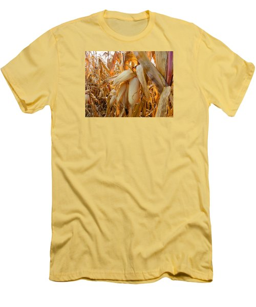Indiana Corn 3 Men's T-Shirt (Athletic Fit)