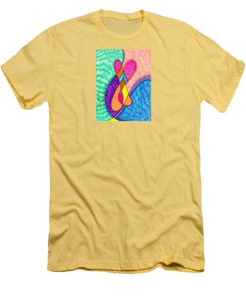 Inner Heart - V Men's T-Shirt (Athletic Fit)