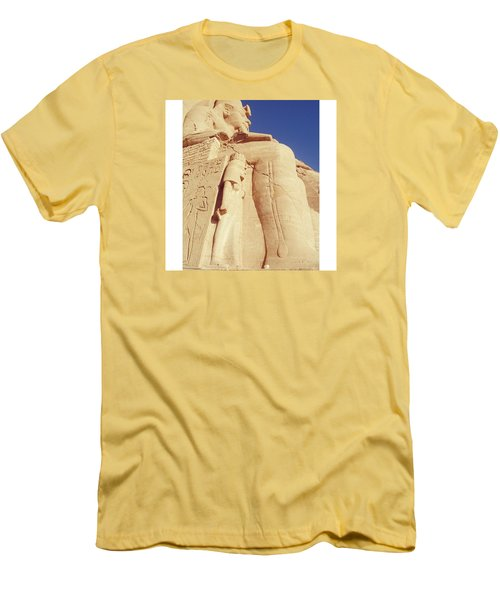 Egytian Monument Men's T-Shirt (Slim Fit) by Patsy Jawo
